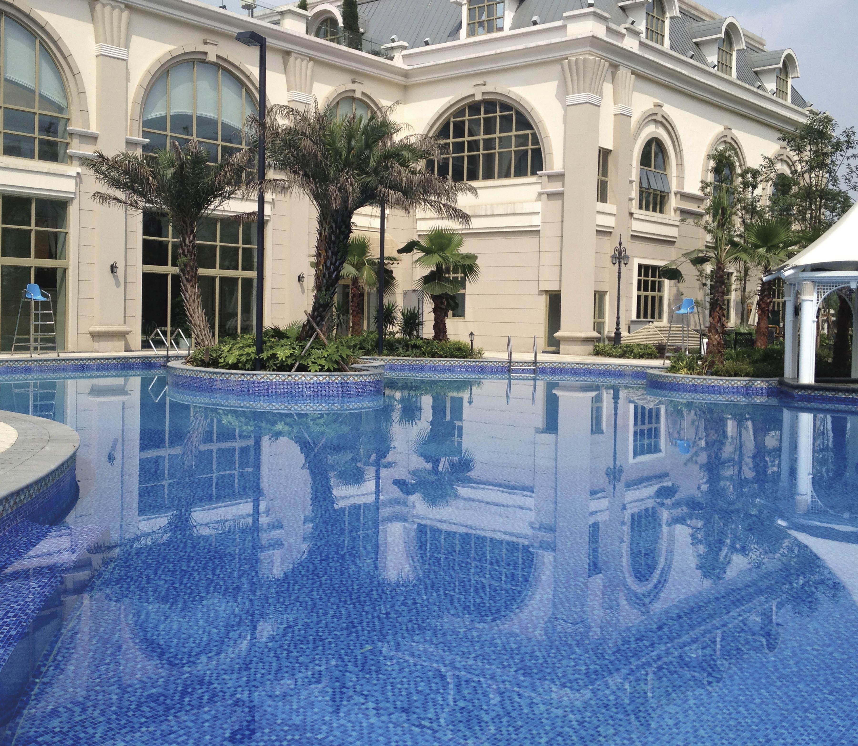 酒店泳池案例2