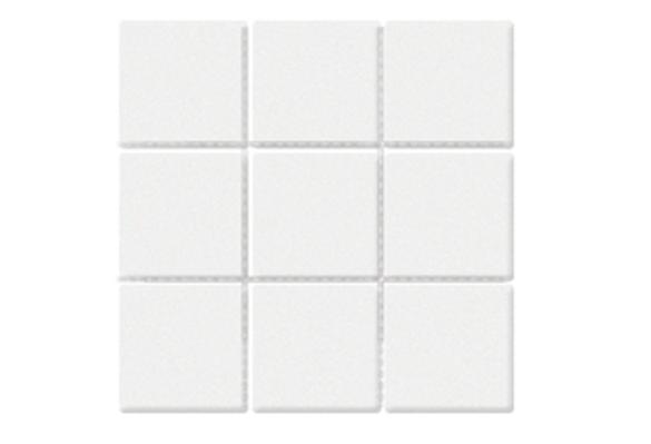 北欧小方砖九宫格圆角系列9701白色亚光