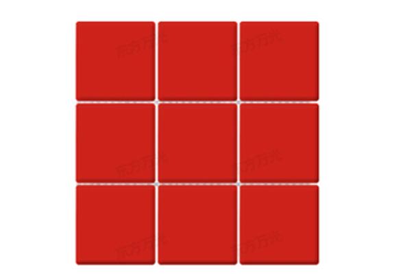 北欧小方砖九宫格圆角系列9716亚光