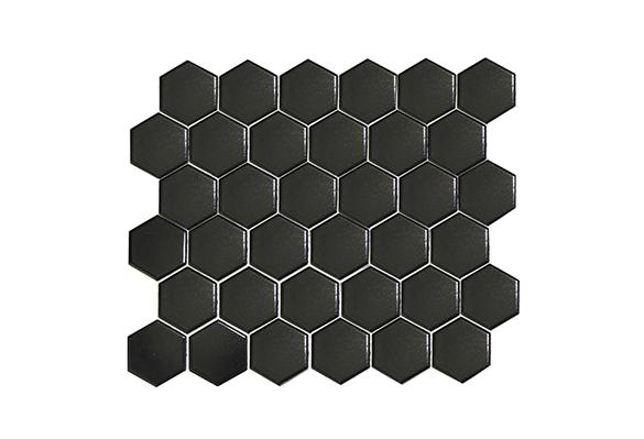 小六角砖5608M(黑色亮光)