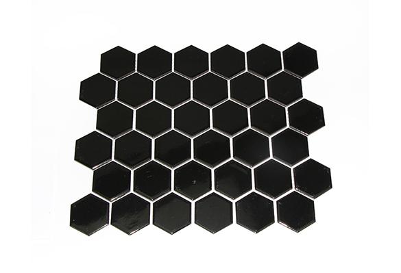 小六角砖5608(黑色亮光)