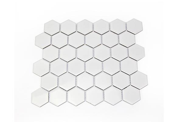 小六角砖5601(白色亮光)